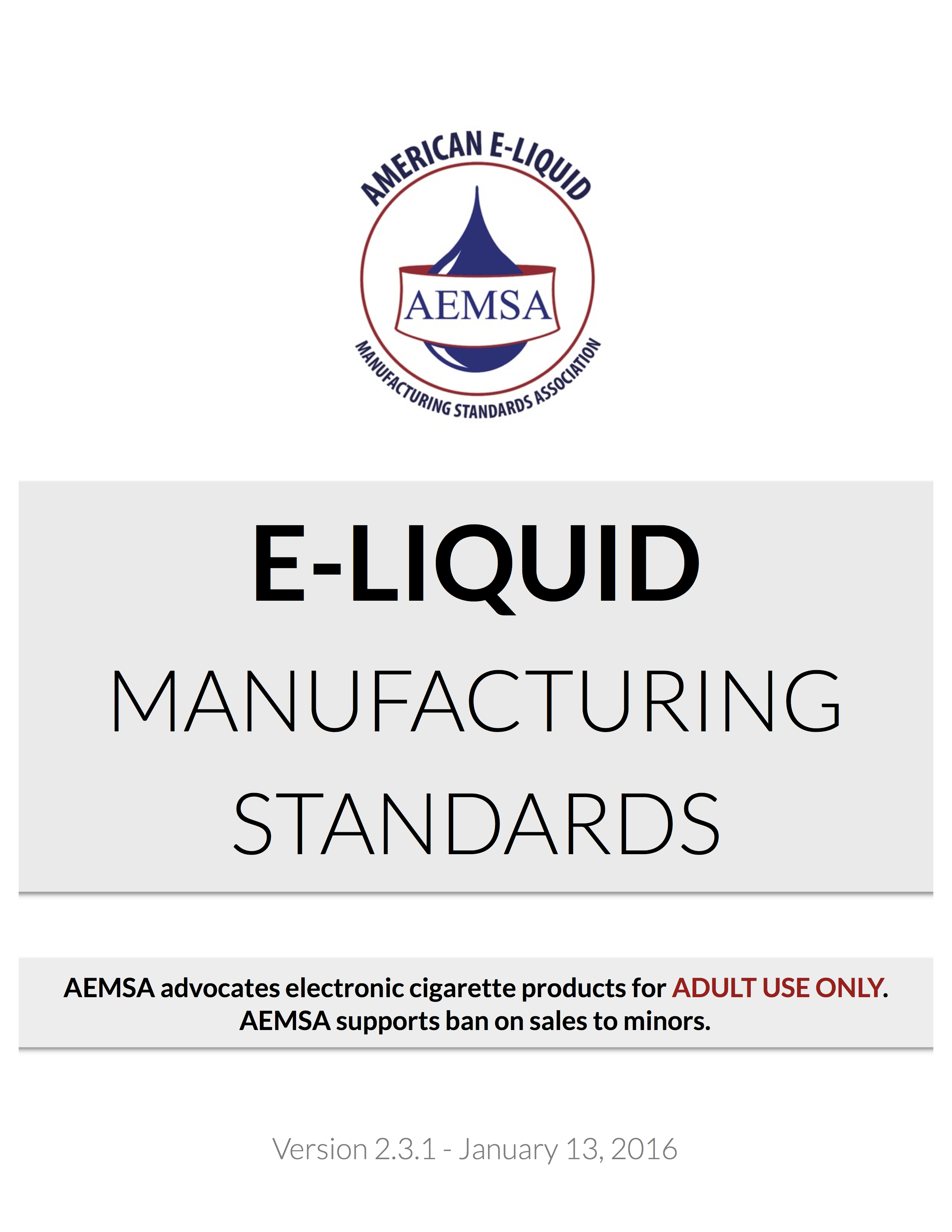 View Our Standards