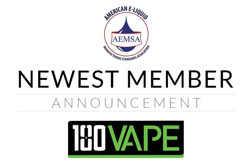 AEMSA Welcomes New Member: 180 Vape   AEMSA